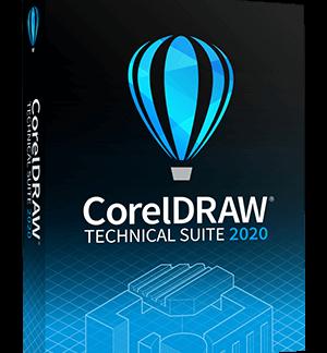 CorelDraw Technical Suite 2020 - Box - Single user